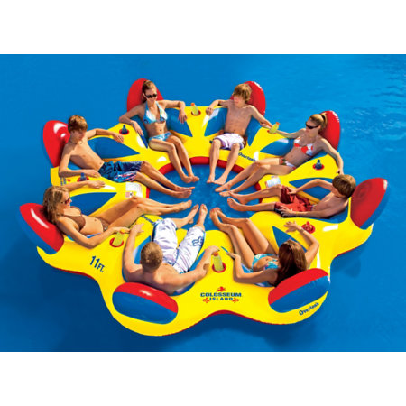 Overton's Colosseum Island, 8-person