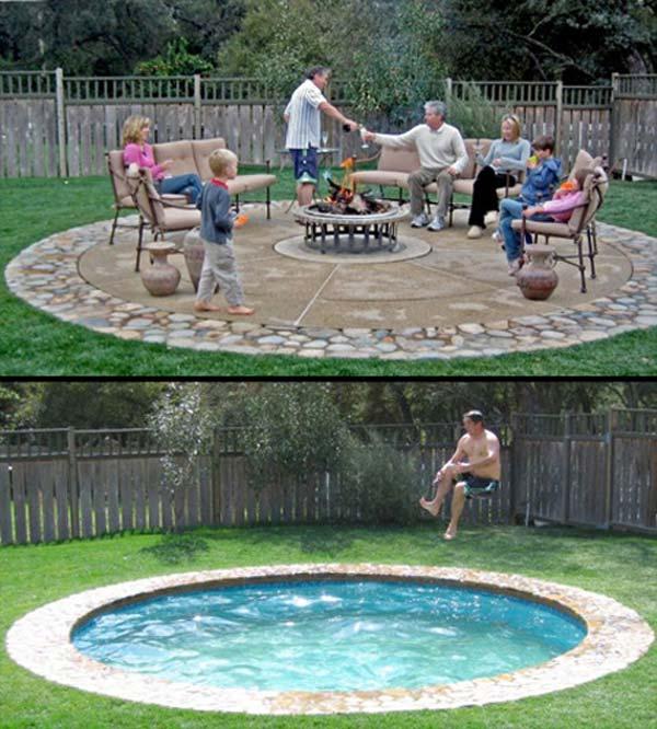 25+ Fabulous Small Backyard Designs with Swimming Pool ...