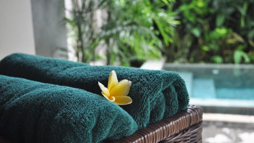 Give Guests Fluffy Towels