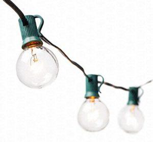 Lights on a string