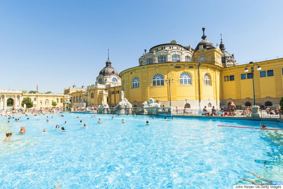 10. Szechenyi thermal baths, Hungary